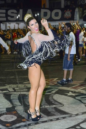 Tatiane Minerato  (Foto: Leo Franco / AgNews)