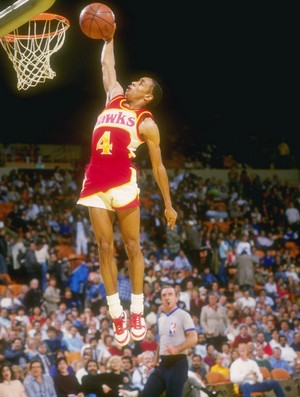 Spud Webb basquete 1986 (Foto: Getty Images)