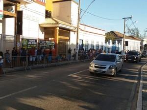 Imunização é no São Pedro Esporte Clube (Foto: Antônio Amorim/Arquivo Pessoal)