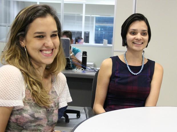 Adriana (à esquerda) e Jéssica organizam evento que acontece neste domingo (3) (Foto: Jamile Alves/G1 AM)
