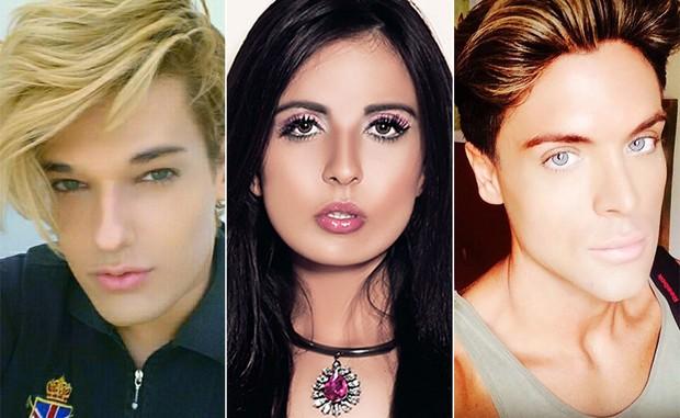 Celso Sabanes, Jennifer Pamplona e Maurício Galdi (Foto: Marcos Serra Lima / Paparazzo - Instagram)