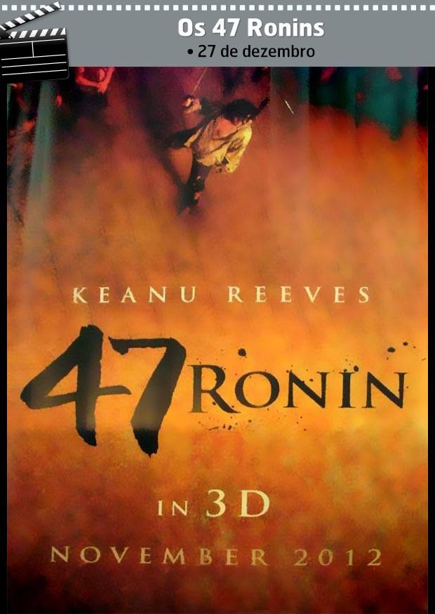 Os 47 Ronins (Foto: Reprodução/Arte Jennifer Defensor)