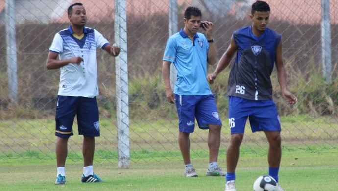 Kiko, treinador Dom Bosco (Foto: Olimpio Vasconcelos/Dom Bosco)