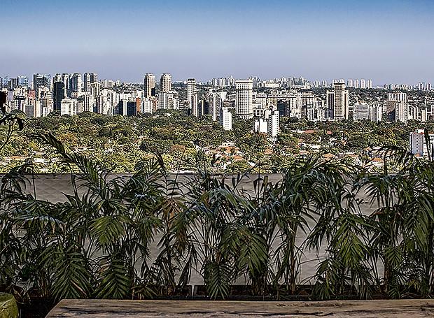Vista para o Jardim Paulistano (Foto: Gui Morelli/Editora Globo)