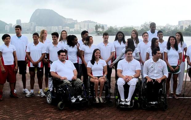 Equipe beneficiada em novo programa de patrocínio Equipe nissan (Foto: Lydia Gismondi / Globoesporte.com)