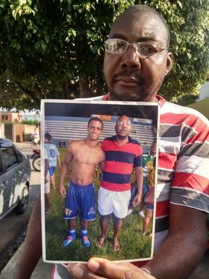 Maurício Da Hora, amigo de Bruno Rangel (Foto: Cleber Rodrigues/Inter TV)