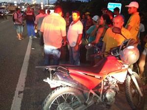 PRF diz que o caso será investigado pela Polícia Civil (Foto: Walter Paparazzo/G1)