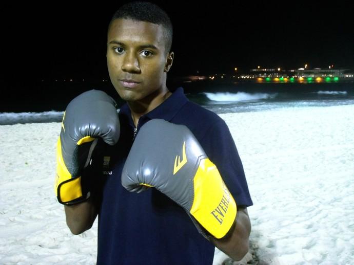 Patrick Lourenço boxe (Foto: Divulgação)