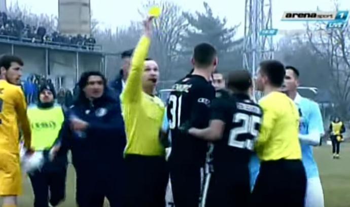 Everton Luiz Partizan Belgrado