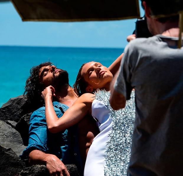 Candice Swanepoel e Marlon Teixeira (Foto:  )