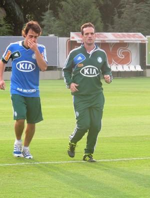 Valdivia treino Palmeiras (Foto: Diego Ribeiro / Globoesporte.com)