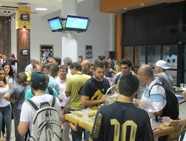 Festa do Botafogo (Foto: Thales Soares)