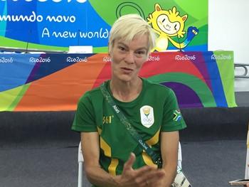 Vera Pauw técnica África do Sul futebol feminino (Foto: Gustavo Rotstein)