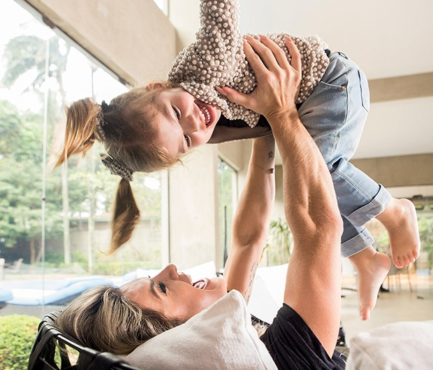 Mirella e Valentina: clima  de Dia das Mães  (Foto:  )