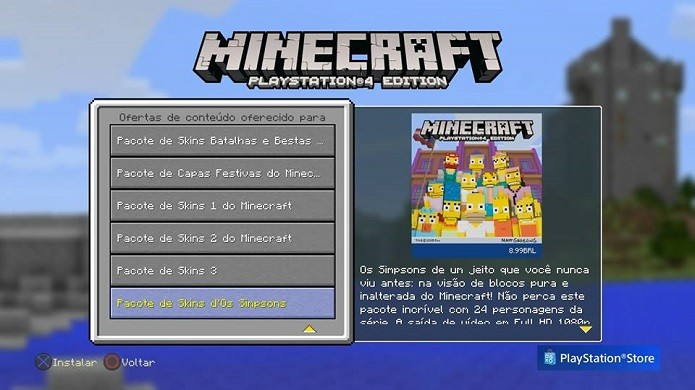 minecraft simpsons skins