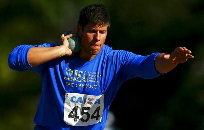 Nelson Fernandes do arremesso de peso (Foto: Divulgação/CBAt)
