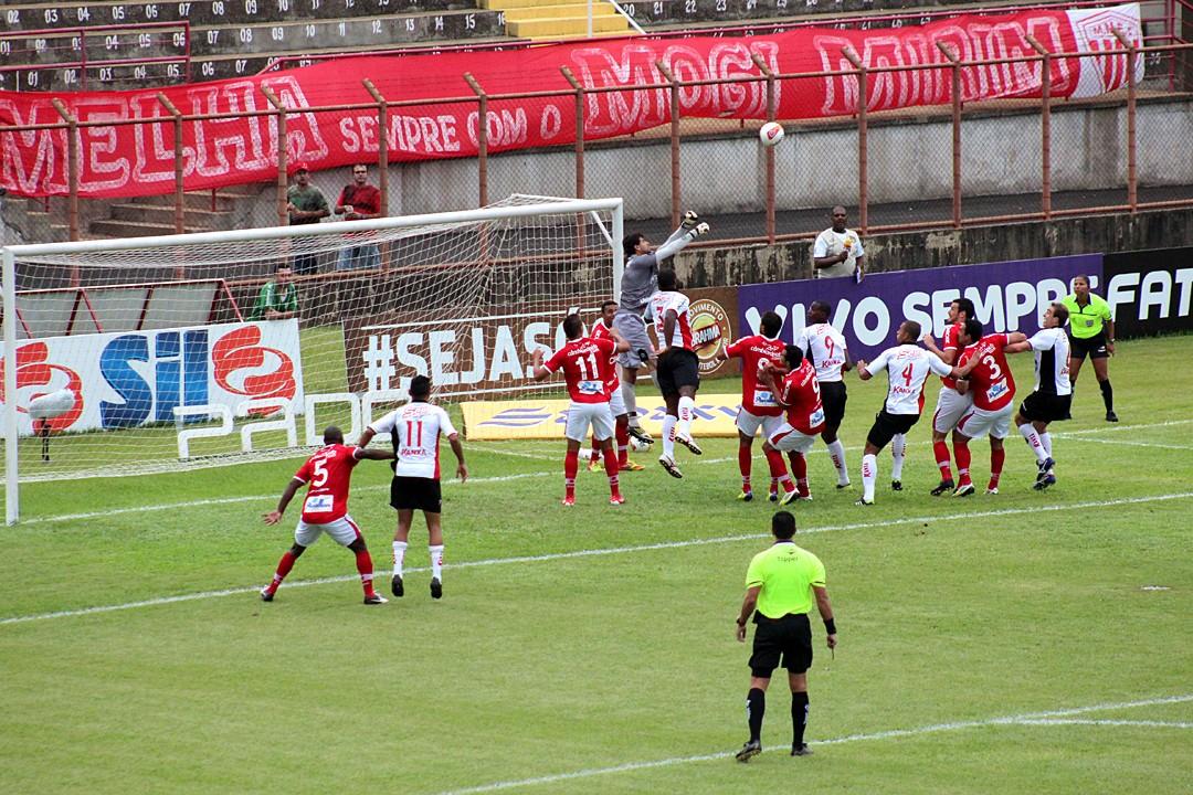 Lance do jogo entre Mogi Mirim e Ituano (Foto: Geraldo Bertanha/ Assessoria do Mogi Mirim)