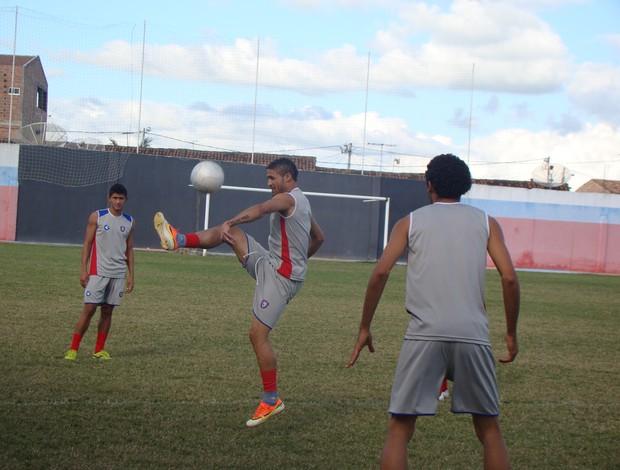 Atacante Lalá, Altinho FC (Foto: Patrícia Costa / GE.COM/CARUARU)