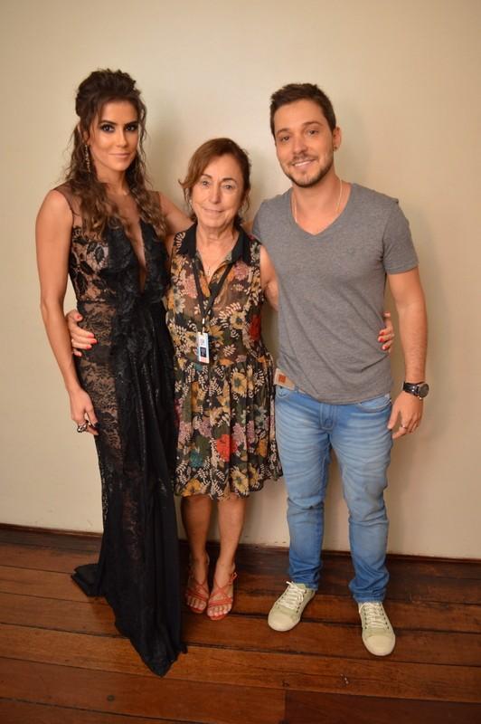 Deborah Secco participa de premiação ao lado de namorado (Foto: Felipe Souto Maior / AgNews)