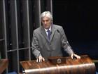 Senador Delcídio do Amaral reassume mandato após prisão