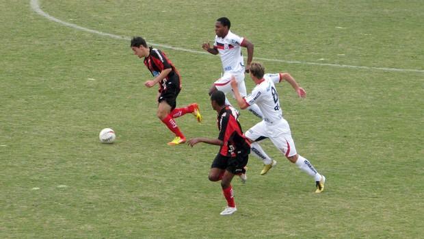 Lance do jogo Iuano x Paulista de Jundiaí Copa Paulista (Foto: Rafaela Gonçalves/Globoesporte.com)