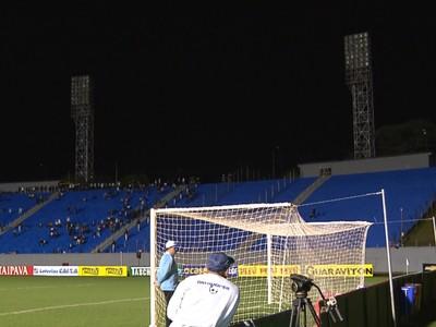 Estádio do Café Londrina Paraná apagão (Foto: Reprodução/RPC)