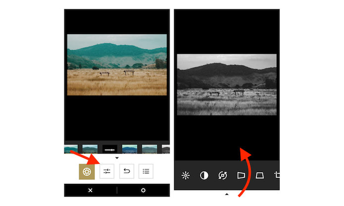 Acessando a página de edições avançadas do VSCO Cam para iPhone (Foto: Reprodução/Marvin Costa) (Foto: Acessando a página de edições avançadas do VSCO Cam para iPhone (Foto: Reprodução/Marvin Costa))