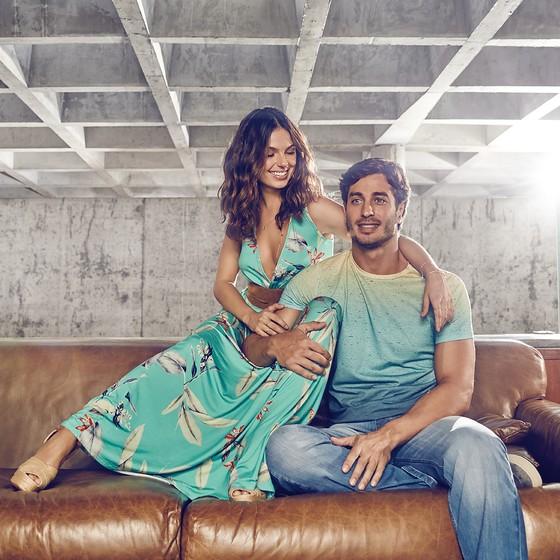 Isis Valverde e André Rezende completam um ano de namoro mês que vem (Foto: Fabio Bartelt)