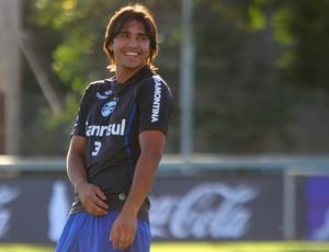 Marcelo Moreno tem três gols na Copa do Brasil (Foto: Lucas Uebel/Grêmio FBPA)