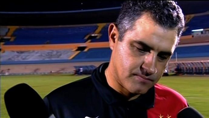 Marcelo Chamusca - técnico Atlético-GO (Foto: Reprodução / PFC)