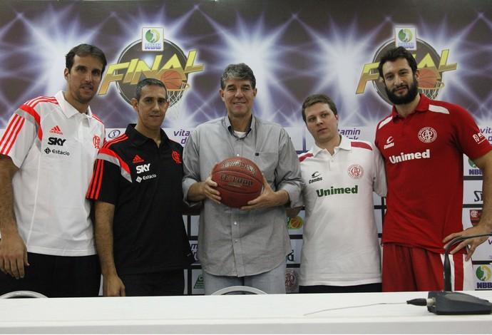 Apresentação oficial da final do NBB 6 (Foto: Foto: Gilvan de Souza / Flamengo)