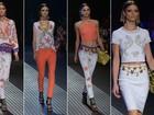 Com tops famosas, Donatella Versace apresenta coleção especial para rede  Riachuelo, na SPFW