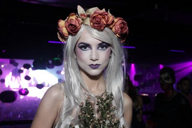 Famosos vão a festa de Halloween em São Paulo (Foto: Paduardo / Agnews)
