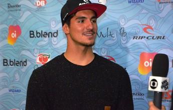 """Gabriel Medina admite tensão por tubarões em J-Bay: """"É olho no sensor"""""""