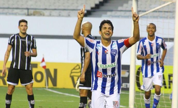 Paysandu x Bragantino - gol Fahel (Foto: Fernando Torres/Paysandu)