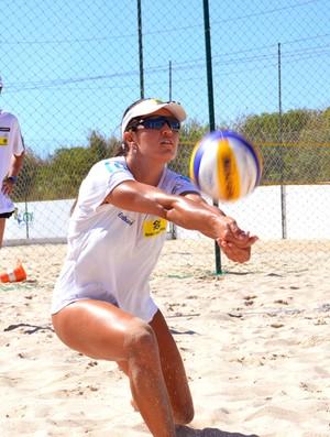 Talita e Maria Elisa Vôlei de Praia Saquarema (Foto: Otávio Furtado / Usina da Comunicação)