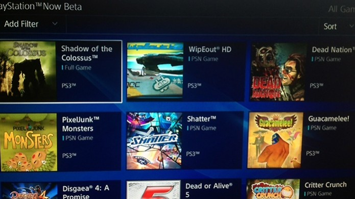 Imagens vazadas da beta da PlayStation Now confirmam 19 títulos no serviço (Foto:  DualShockers) (Foto: Imagens vazadas da beta da PlayStation Now confirmam 19 títulos no serviço (Foto:  DualShockers))
