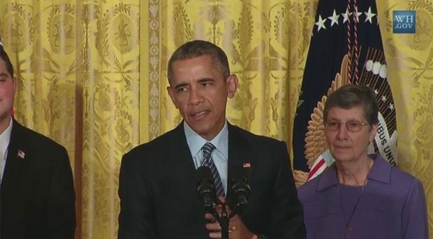 Obama fala sobre novo plano de redução de emissão de gases no setor de energia (Foto: Reprodução/YouTube/The White House)
