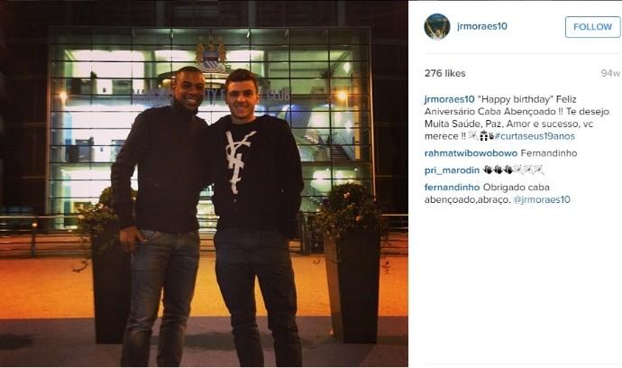 BLOG: Amigos, Junior Moraes e Fernandinho se tornam rivais na Liga dos Campeões