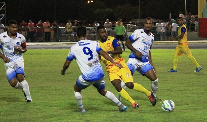 São Raimundo-RR  5 x 0 GAS - 2º jogo da 3ª rodada do primeiro turno do Campeonato Roraimense (Foto: Imagem/Tércio Neto)