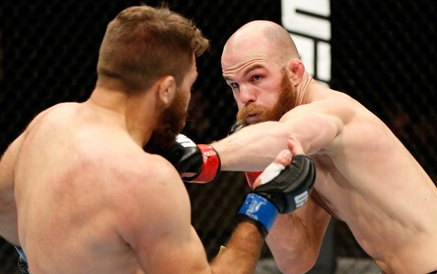 Richard Walsh x Chris Indich UFC MMA (Foto: Getty Images)