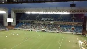Arena Pantanal, Palmeiras, Ponte Preta (Foto: Robson Boamorte)