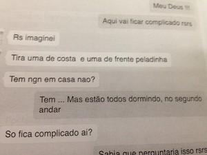 3bb16e9c3 Conversa foi divulgada pela Polícia Civil (Foto  Divulgação  Polícia ...