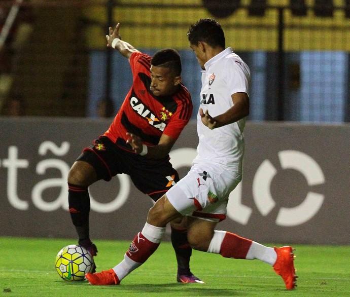 Sport x Vitória Série A (Foto: Marlon Costa / Pernambuco Press)