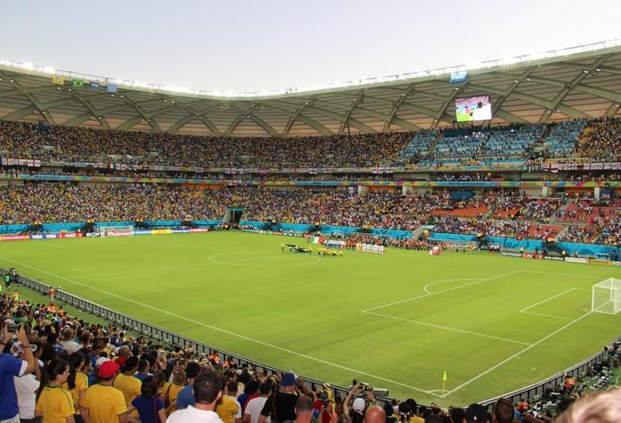 Arena Amazônia funcionamento do estádio (Foto: Silvio Lima)