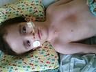 Mãe faz dívida no DF para comprar leite especial a filho com hidrocefalia