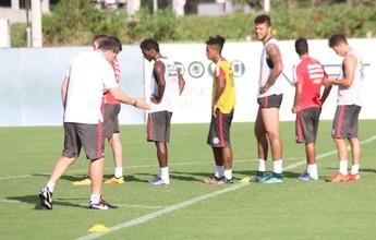 Primeiro treino sem D'Ale tem trabalho tático e titulares preservados no Inter