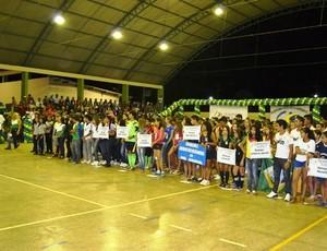 Jogos Escolares da Pérola 2014 (Foto: Semcet/Divulgação)