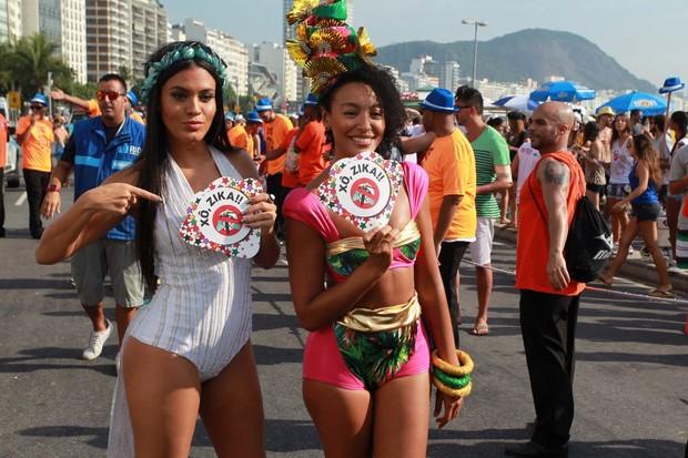 Bloco da Favorita (Foto: Marcello Sá Barretto/AgNews)