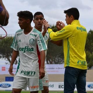 Palmeiras Mundial sub-17 contra Sporting Cristal (Foto: Divulgação)